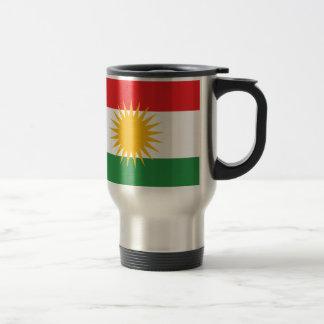 Flag of Kurdistan; Kurd; Kurdish Travel Mug