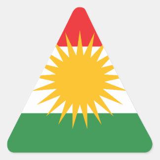 Flag of Kurdistan; Kurd; Kurdish Triangle Sticker