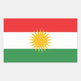 Flag of Kurdistan Sticker