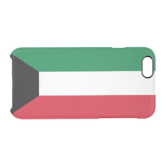 Flag of Kuwait Clear iPhone Case