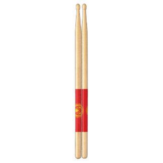 Flag of Kyrgyzstan Drumsticks