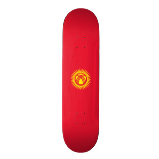 Flag of Kyrgyzstan Skateboard Deck