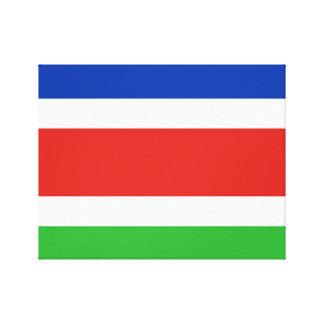 Flag of Laarbeek Canvas Print