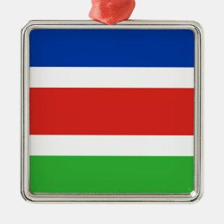 Flag of Laarbeek Metal Ornament