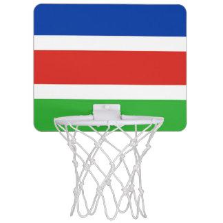 Flag of Laarbeek Mini Basketball Hoop