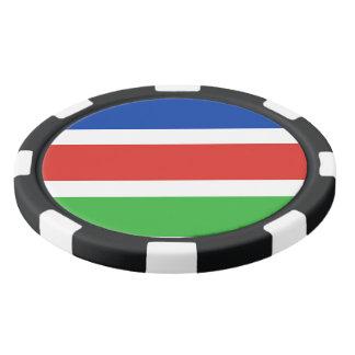 Flag of Laarbeek Poker Chips
