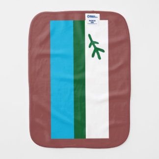 Flag of Labrador Burp Cloth