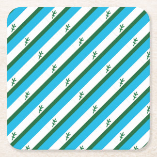 Flag of Labrador Square Paper Coaster