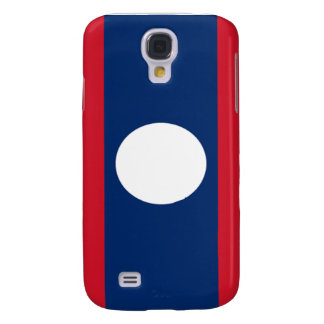 Flag of Laos Galaxy S4 Cases