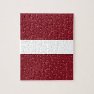 Flag of Latvia Jigsaw Puzzle