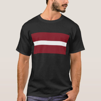 Flag of Latvia T-Shirt