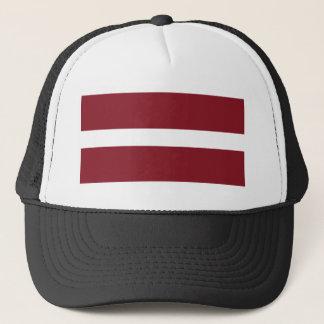 Flag of Latvia Trucker Hat