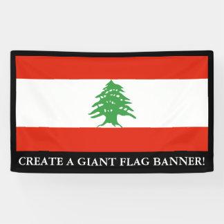 Flag of Lebanon Banner