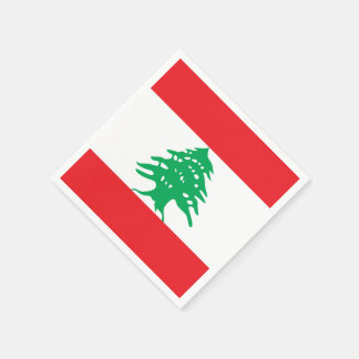 Flag of Lebanon Paper Napkins
