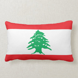 Flag of Lebanon pillow