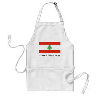 Flag of Lebanon Standard Apron