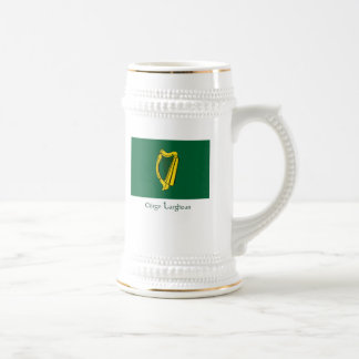 Flag of Leinster Beer Stein