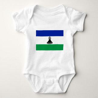 Flag_of_Lesotho Baby Bodysuit