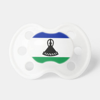 Flag_of_Lesotho Baby Pacifier