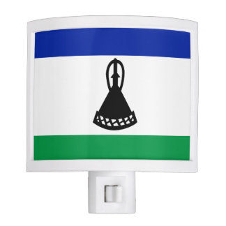 Flag of Lesotho Night Lights