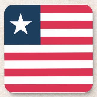 Flag of Liberia Drink Coasters