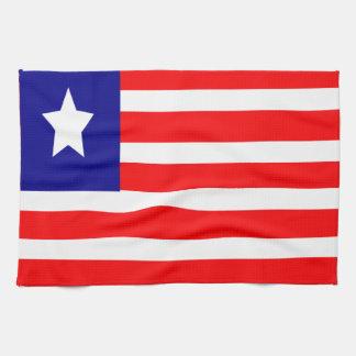 Flag of Liberia Kitchen Towel