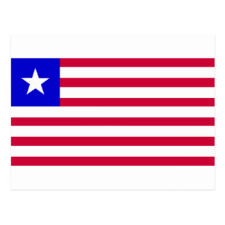 Flag of Liberia Postcard