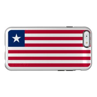 Flag of Liberia Silver iPhone Case Incipio Feather® Shine iPhone 6 Case