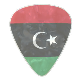 Flag of Libya Guitar Picks