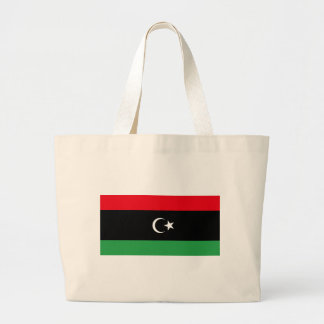 Flag_of_Libya Large Tote Bag