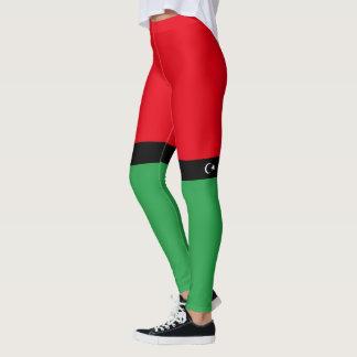 Flag of Libya Leggings
