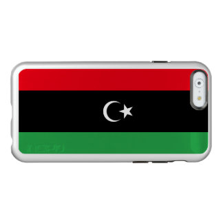 Flag of Libya Silver iPhone Case Incipio Feather® Shine iPhone 6 Case