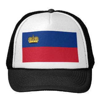 Flag_of_Liechtenstein Trucker Hat