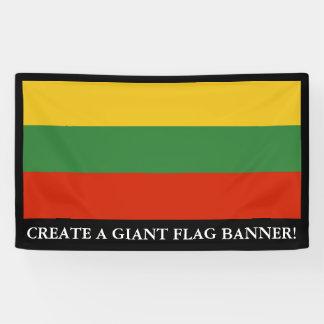 Flag of Lithuania Banner