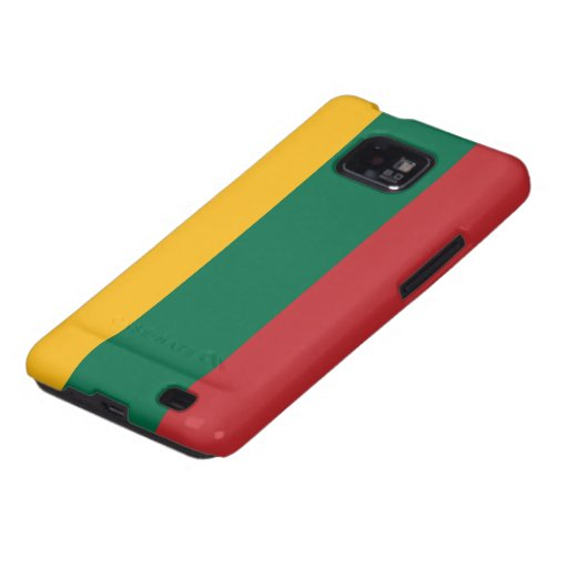Flag of Lithuania Galaxy SII Cover