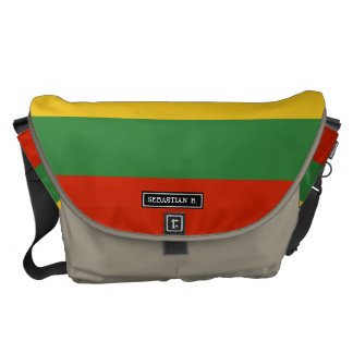 Flag of Lithuania Courier Bags