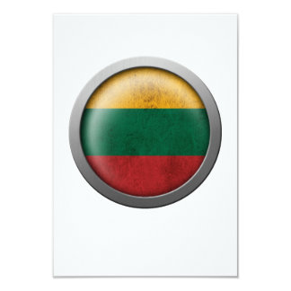 Flag of Lithuania Disc Card