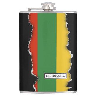 Flag of Lithuania Flask