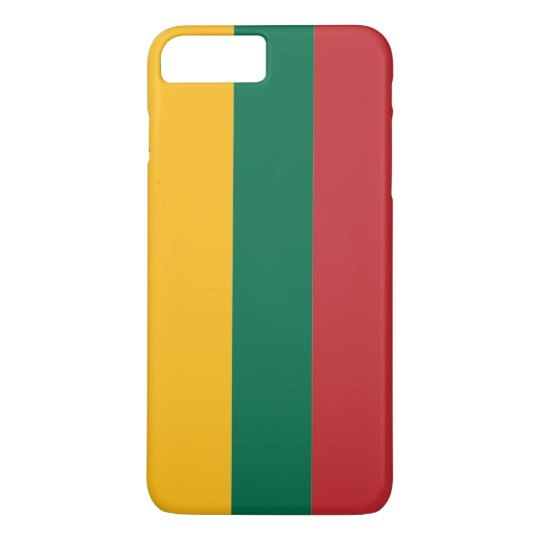 Flag of Lithuania iPhone 7 Plus Case