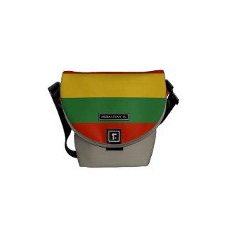 Flag of Lithuania Messenger Bag