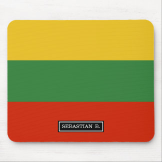 Flag of Lithuania Mouse Pad