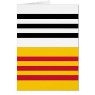Flag of Loon op Zand Card