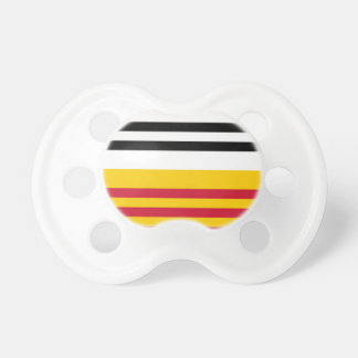 Flag of Loon op Zand Pacifiers