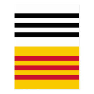 Flag of Loon op Zand Postcard