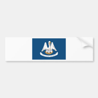 Flag Of Louisiana Bumper Sticker