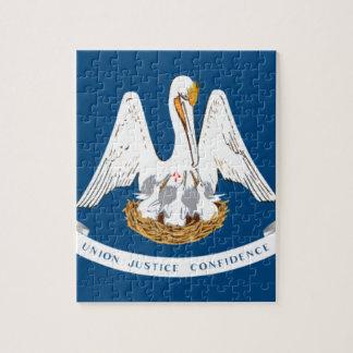 Flag Of Louisiana Jigsaw Puzzle