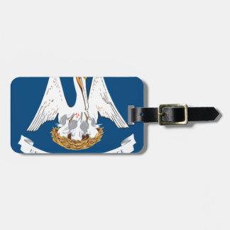Flag Of Louisiana Luggage Tag