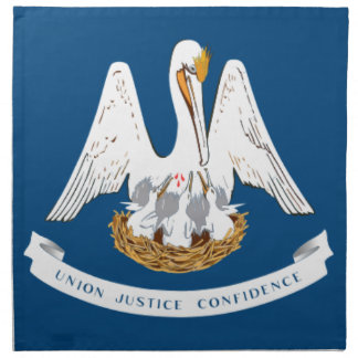 Flag Of Louisiana Napkin