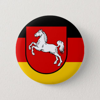 Flag of Lower Saxony 2 Inch Round Button