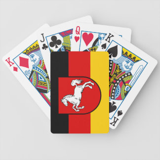 Flag of Lower Saxony Bicycle Playing Cards